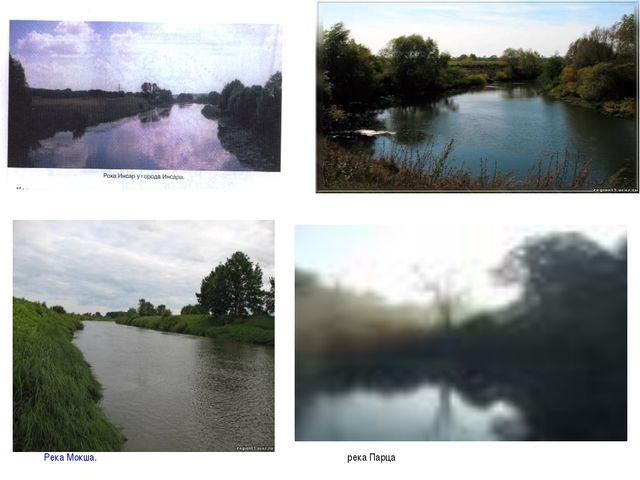 Река Мокша. река Парца