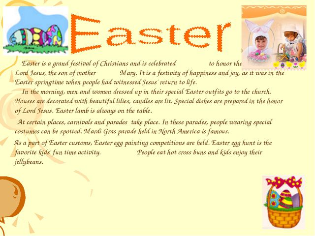 Easter is a grand festival of Christians and is celebrated to honor the resu...