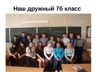 Наш дружный 7б класс