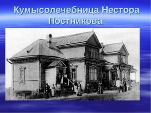 Кумысолечебница Нестора Постникова