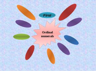 Ordinal numerals First