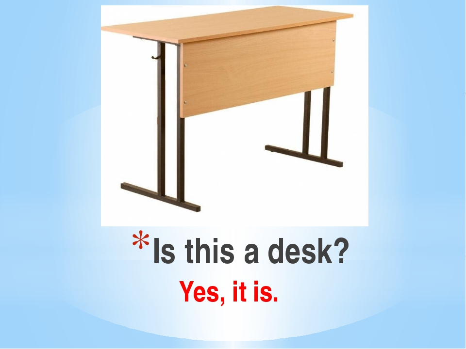 Is this a desk? Yes, it is.