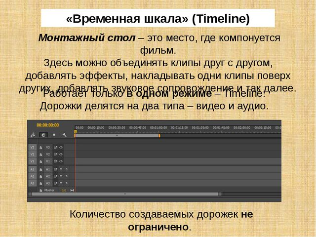 Над панелью монитора источника расположено главное меню. Раздел меню File (Фа...