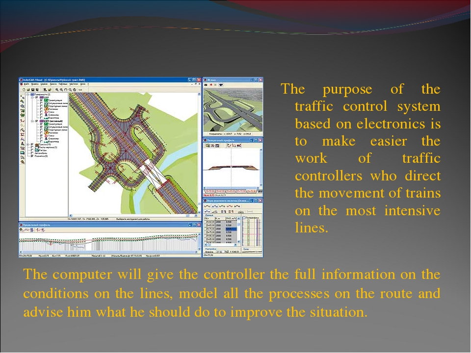 The purpose of the traffic control system based on electronics is to make eas...