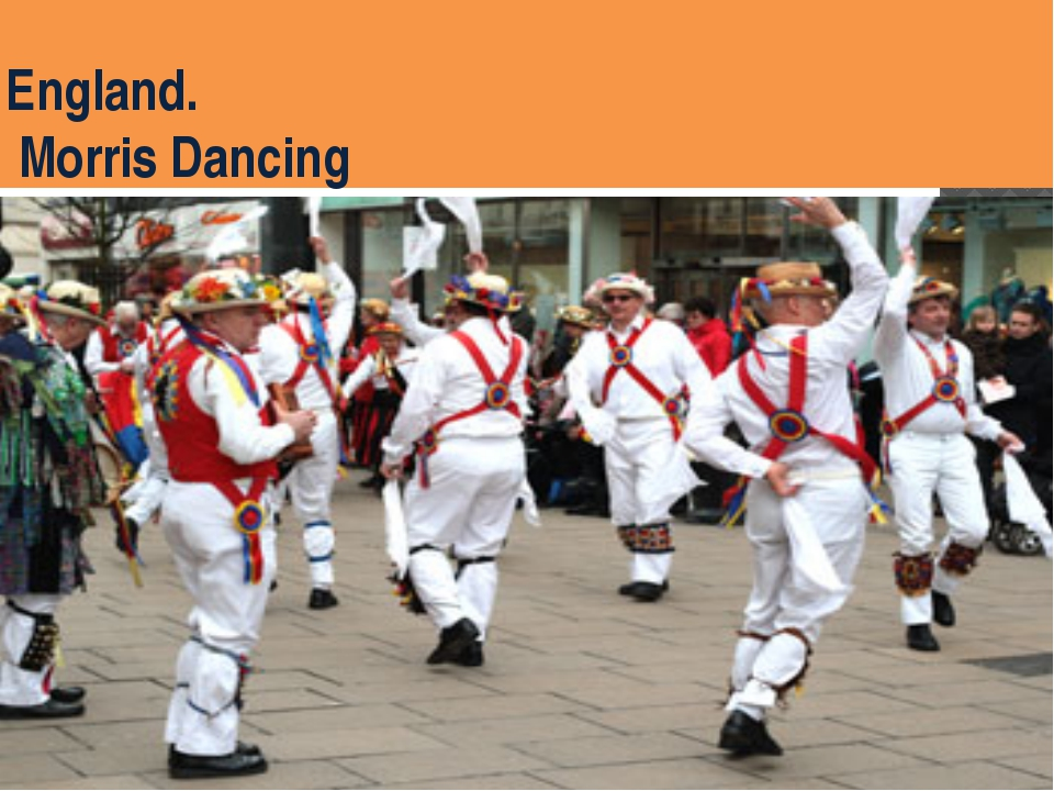 England. Morris Dancing