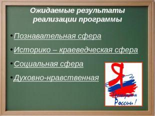 Программа «Я - гражданин России» представлена на областной конкурс инновацион