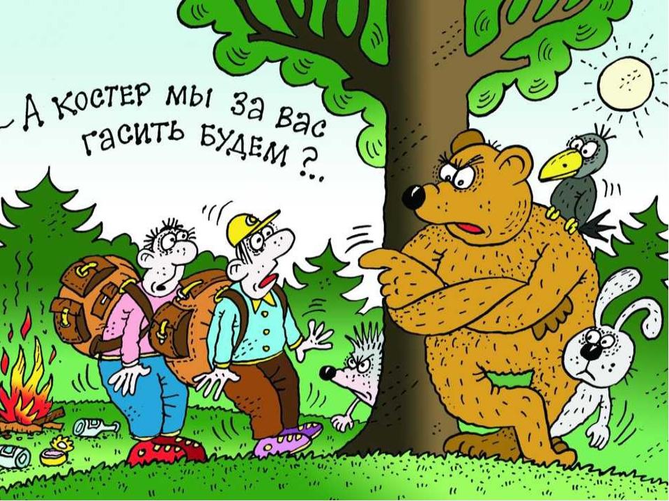Анекдоты о лесных жителях