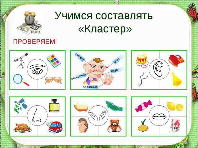 Учимся составлять «Кластер» ПРОВЕРЯЕМ! http://aida.ucoz.ru