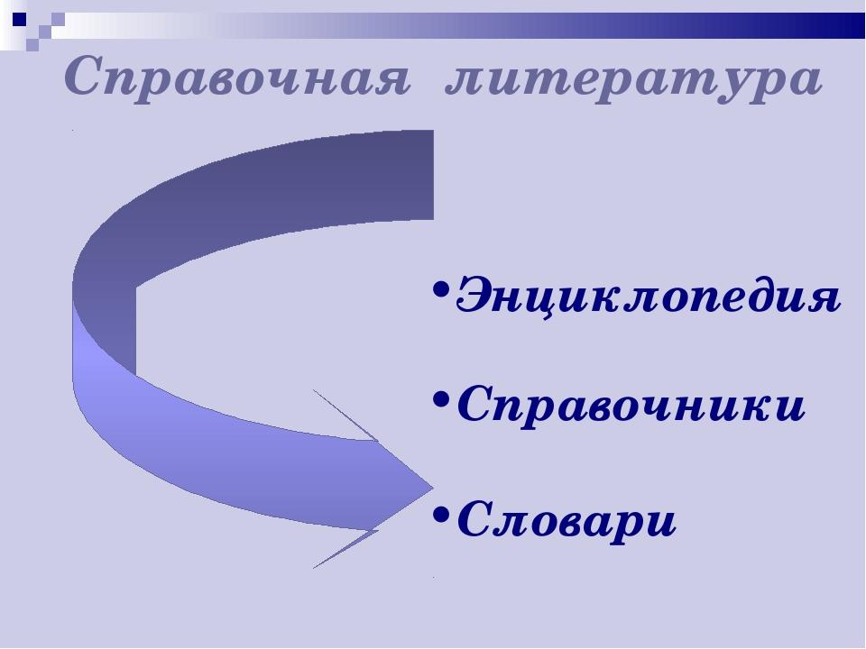 Энциклопедия Справочники Словари Справочная литература
