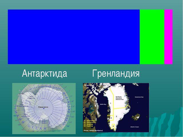 Антарктида Гренландия