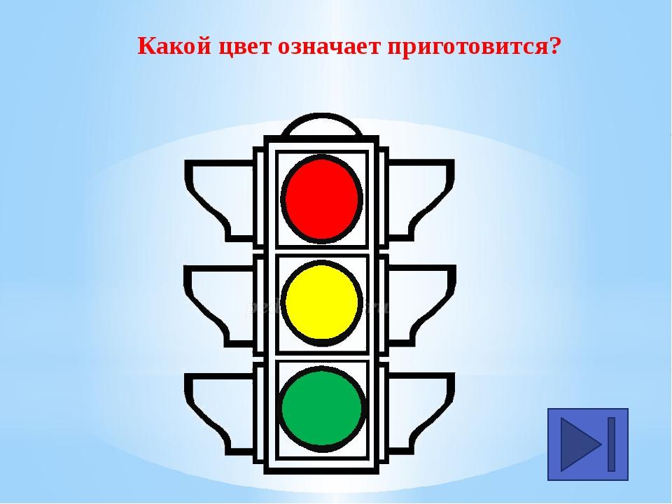 Какой цвет означает «Стой!»?