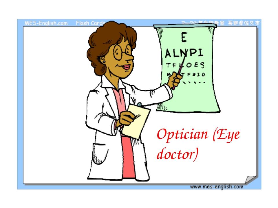 Optician (Eye doctor)