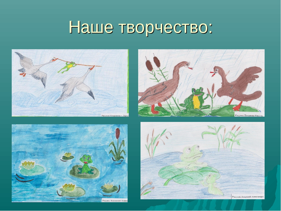 Наше творчество: