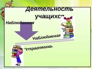 Деятельность учащихся