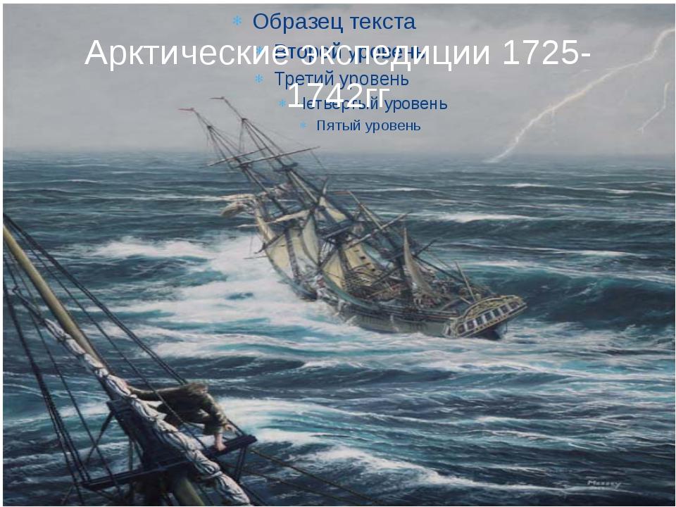 Арктические экспедиции 1725-1742гг