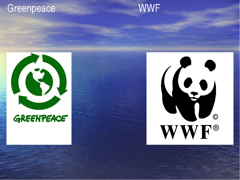 Greenpeace WWF