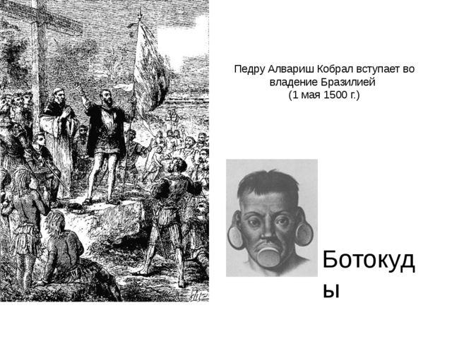 Педру Алвариш Кобрал вступает во владение Бразилией (1 мая 1500 г.) Ботокуды