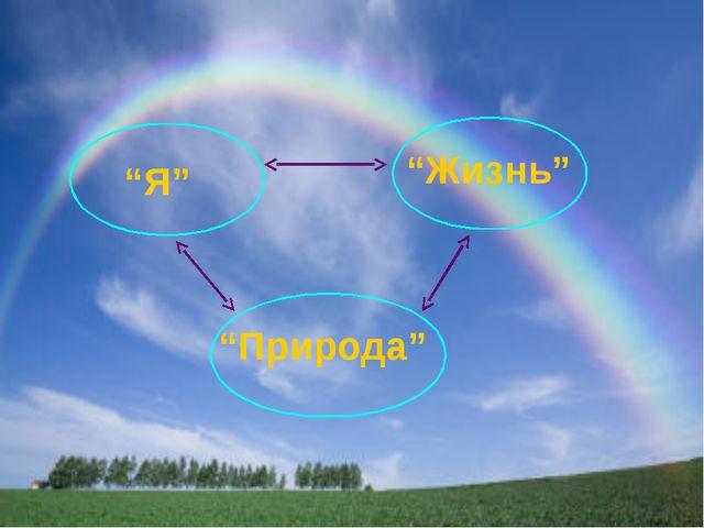"""""""Я"""" """"Жизнь"""" """"Природа"""""""