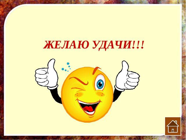 ЖЕЛАЮ УДАЧИ!!!