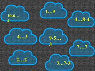 1…9 2…2 10-6…4 7…7 4…3 4…8-4 9-5…3 3…7-3