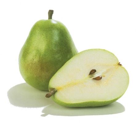 Правила употребления некоторых фруктов. Груши и яблоки едят, разрезав на дольки и вырезав сердцевину. У яблок предварительно очи
