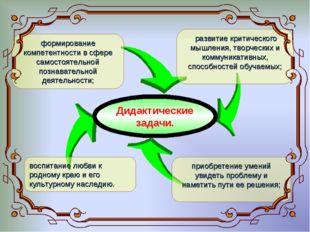 формирование компетентности в сфере самостоятельной познавательной деятельнос