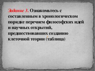 Задание 3. Ознакомьтесь с составленным в хронологическом порядке перечнем фил