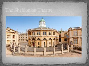 The Sheldonian Theatre