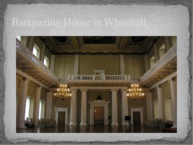 Banqueting House in Whitehall