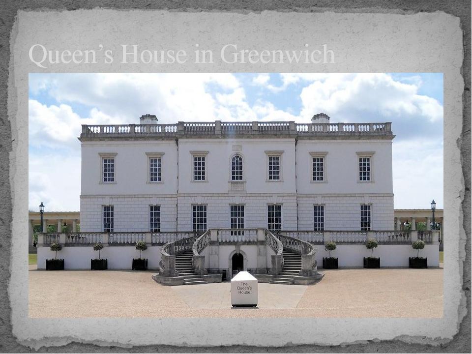 Queen's House in Greenwich