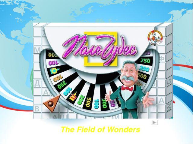 The Field of Wonders