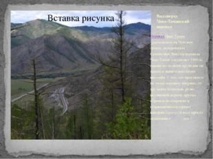 Вид сверху. Чике-Таманский перевал Перевал Чике-Таман -расположен на Чуйском