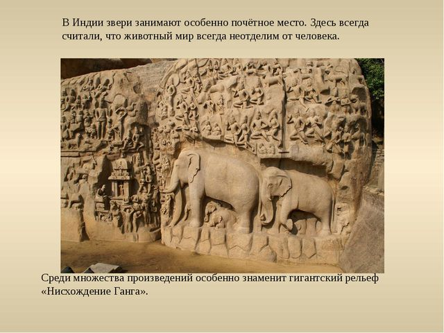В Индии звери занимают особенно почётное место. Здесь всегда считали, что жив...