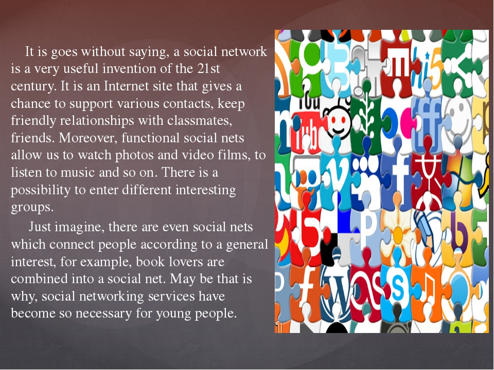 It is goes without saying, a social network is a very useful invention of th...