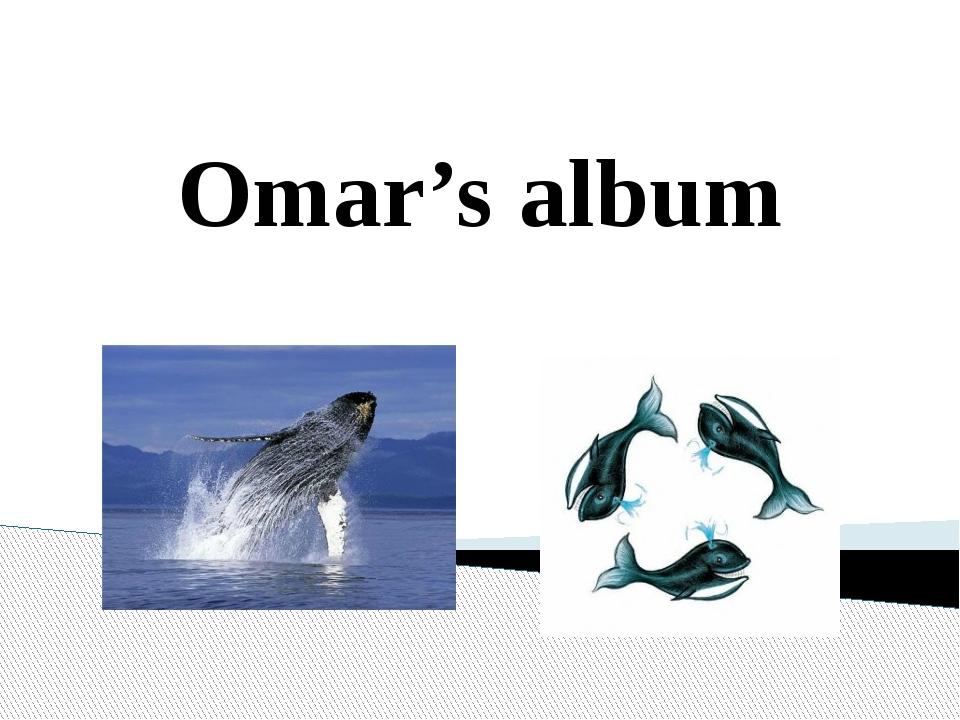 Omar's album