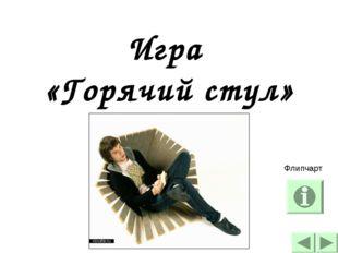 Игра «Горячий стул» Флипчарт