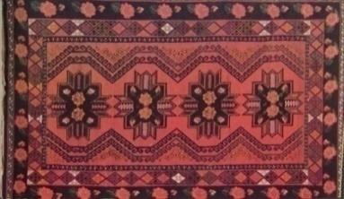 казахский ковёр