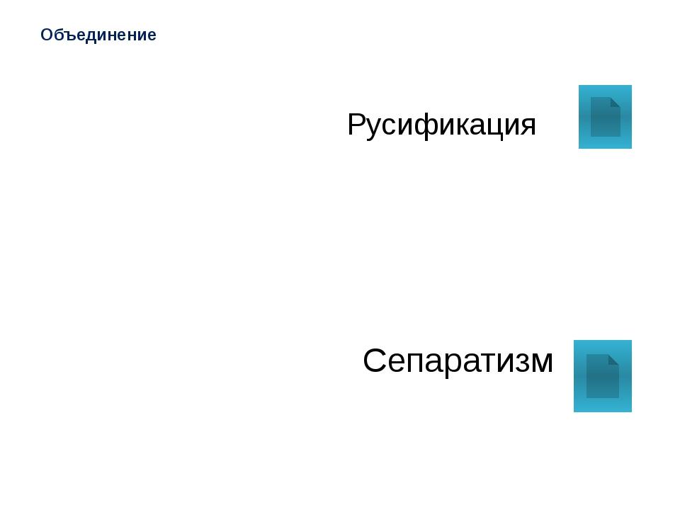 Русификация Насильственное внедрение русского языка, русских традиций в нацио...