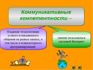 Владение технологиями устного и письменного общения на разных языках, в том ч