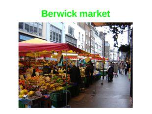 Berwick market