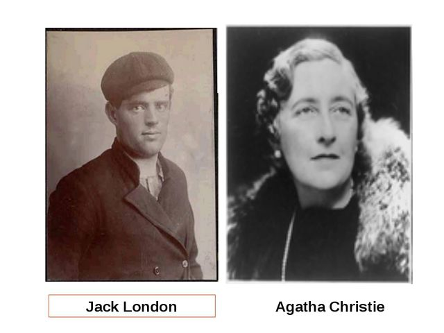 Jack London Agatha Christie