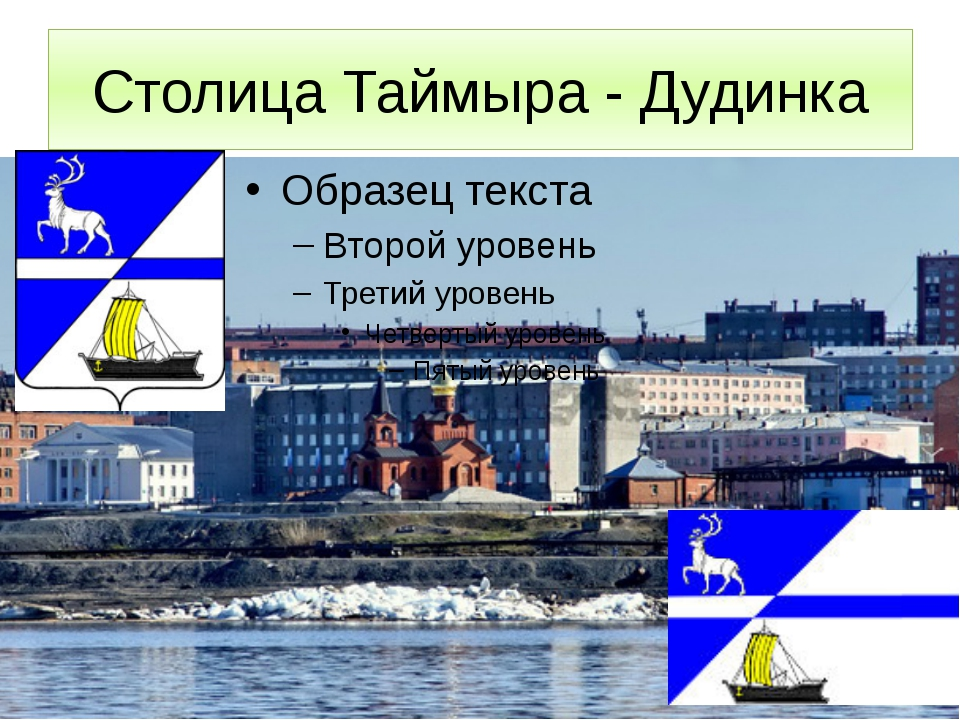 Столица Таймыра - Дудинка Дудинка – административный центр Таймырского Долган...