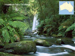 Hopetoun falls - Victoria