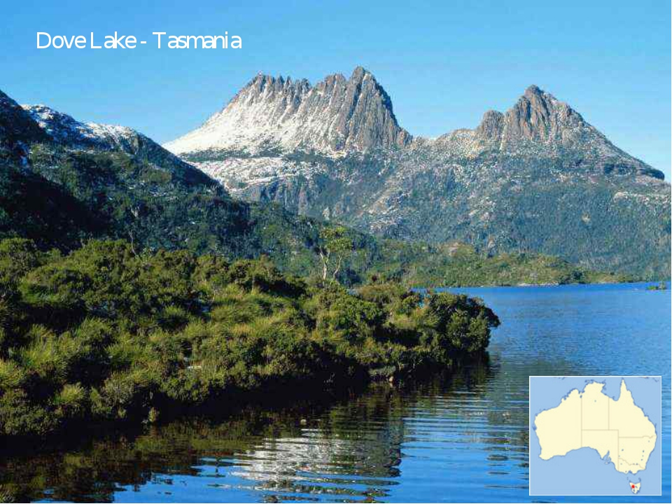 Dove Lake - Tasmania