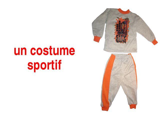 un costume sportif