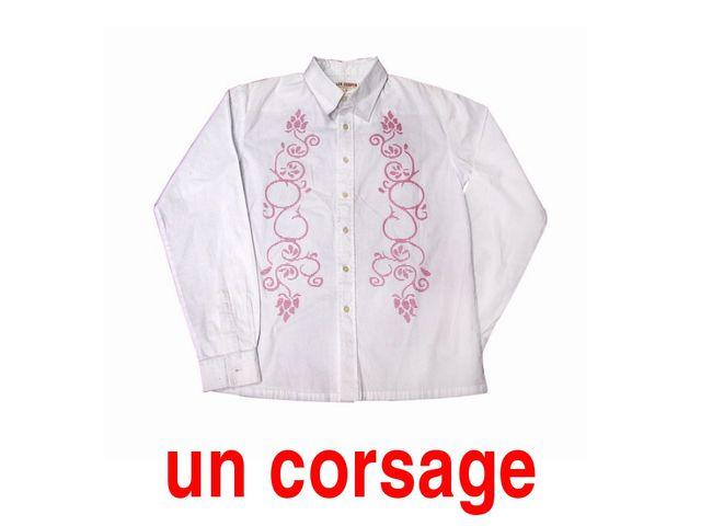 un corsage