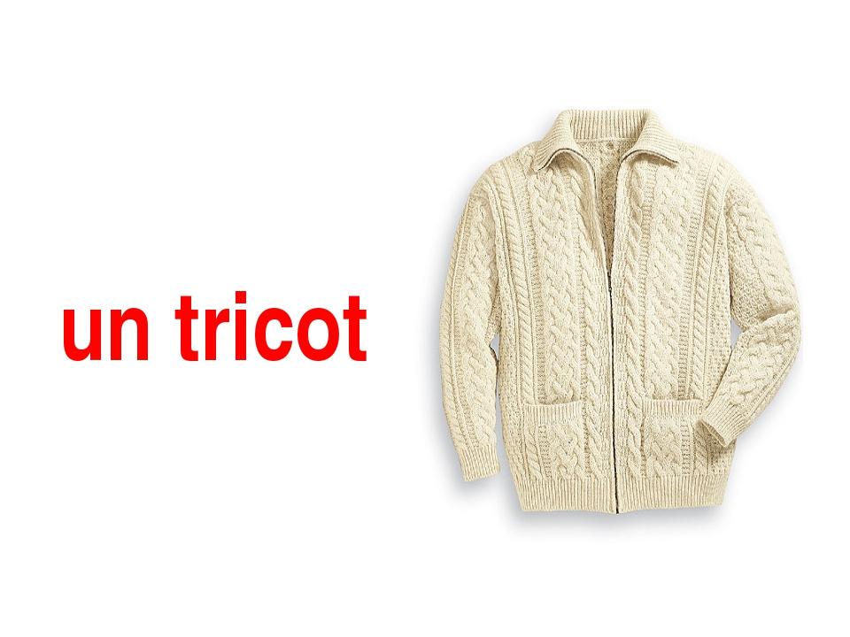 un tricot