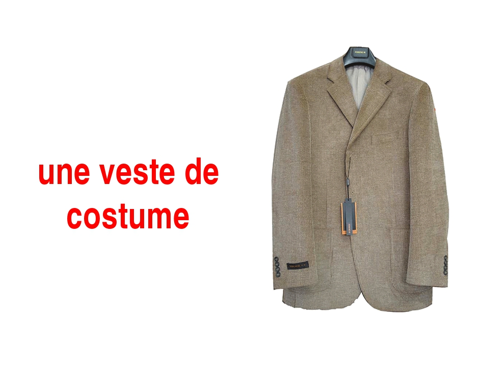 une veste de costume