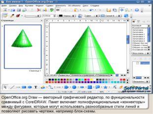 OpenOffice.org Draw — векторный графический редактор, по функциональности сра