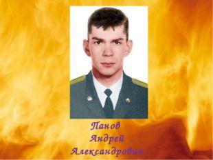 Панов Андрей Александрович